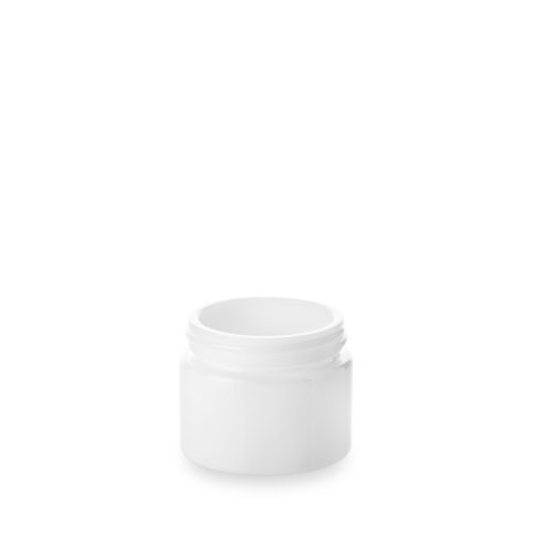 pot cosmétique verre opale 30ml chez Embalforme