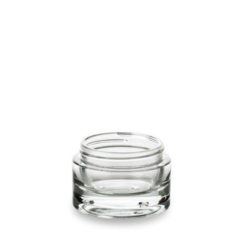 Emablforme propose le pot cosmétique en verre Premium 50 ml haut de gamme pour un effet luxe.