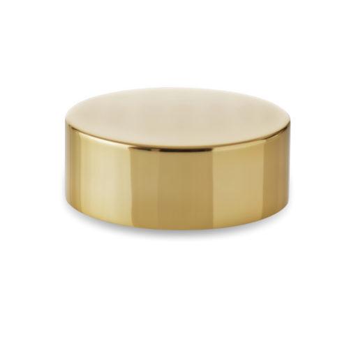 couvercle polypropylène chapé or Embalforme pour pot bague 60400