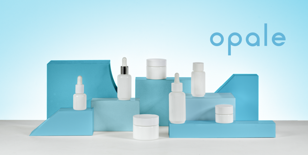opt for the glass opale collection by Embalforme